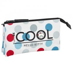 Portatodo Hello Kitty Cool triple - Imagen 1
