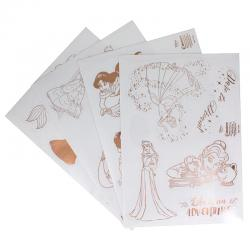 Vinilos decorativos Princesas Disney - Imagen 1