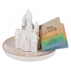 Plato ceramica castillo Princesas Disney - Imagen 1