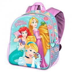 Mochila 3D Princesas Disney 31cm - Imagen 1
