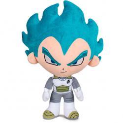 Peluche Vegeta Super Saiyan Blue Dragon Ball 31cm - Imagen 1