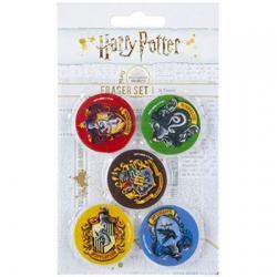 Blister borradores Harry Potter - Imagen 1