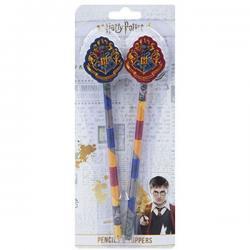 Blister lapiceros Harry Potter con topper - Imagen 1