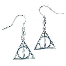 Pendientes Deathly Hallows Harry Potter - Imagen 1