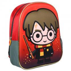 Mochila 3D Harry Potter 31cm - Imagen 1