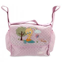 Bolso baby Looney Tunes rosa grande - Imagen 1