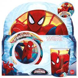 Set melamina Spiderman Marvel - Imagen 1