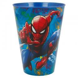 Vaso Graffiti Spiderman Marvel 430ml - Imagen 1