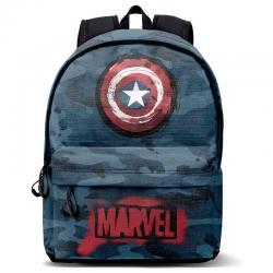 Mochila Capitan America Marvel 44cm - Imagen 1