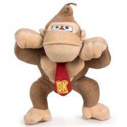 Peluche Donkey Kong Super Mario Bros soft 25cm - Imagen 1