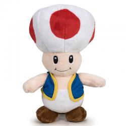 Peluche Toad Super Mario Bros soft 26cm - Imagen 1