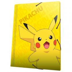 Carpeta A4 Pikachu Pokemon solapas - Imagen 1