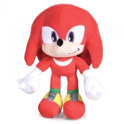 Peluche Knuckles Sonic soft 24cm - Imagen 1