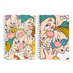 Bloc notas Siente Enanitos Disney Together - Imagen 1