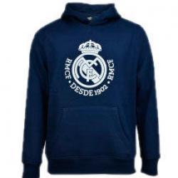 Sudadera Real Madrid capucha marino junior - Imagen 1
