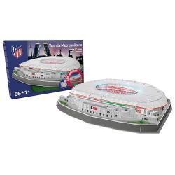 Puzzle 3D Estadio Wanda Metropolitano Atletico de Madrid led - Imagen 1