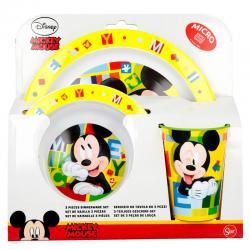 Set desayuno Mickey Disney microondas - Imagen 1