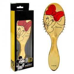 Cepillo cabello Minnie Disney dorado - Imagen 1