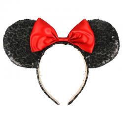 Diadema premium lentejuelas Minnie Disney - Imagen 1