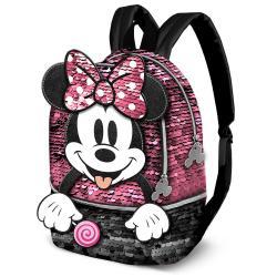 Mochila Lollipop Minnie Disney lentejuelas 32cm - Imagen 1