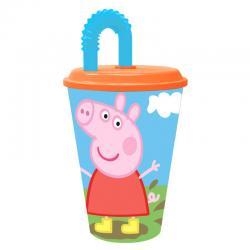 Vaso caña Peppa Pig - Imagen 1