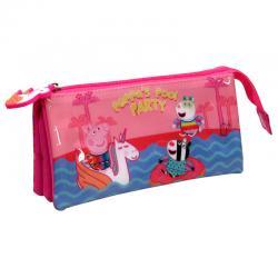 Portatodo Peppa Pig Pool Party triple - Imagen 1