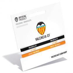 Pulsera classic Valencia CF tricolor - Imagen 1
