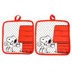 Agarraderas Snoopy - Imagen 1