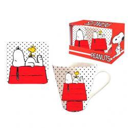 Set taza+ posavasos Snoopy - Imagen 1