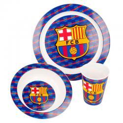 Set desayuno F.C Barcelona microondas - Imagen 1