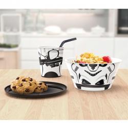 Set desayuno Star Wars stormtrooper apilable - Imagen 1