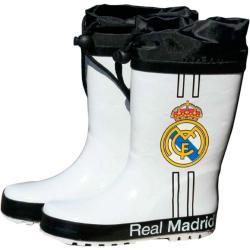 Botas agua blancas cierre ajustable Real Madrid - Imagen 1