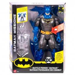 Figura Batman Superarmadura Night Missions DC Comics 30cm - Imagen 1