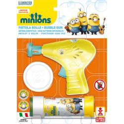 Pistola burbujas + pompero Minions - Imagen 1