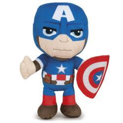 Peluche Capitan America Vengadores Avengers Marvel 30cm - Imagen 1