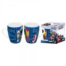 Taza ceramica Vengadores Avengers Marvel barrilete - Imagen 1