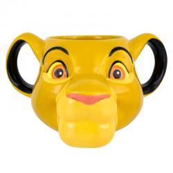 Taza 3D Disney El Rey León Simba - Imagen 1