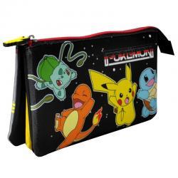 Portatodo Pokemon triple - Imagen 1