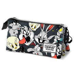 Portatodo Folks Looney Tunes triple - Imagen 1