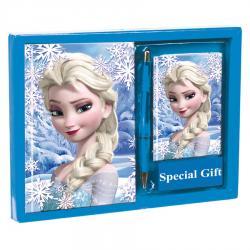 Set diario + listin Frozen Disney Heart - Imagen 1