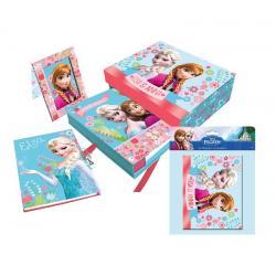 Set diario marco y album Frozen Disney - Imagen 1