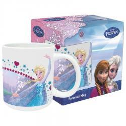 Taza Frozen Disney Forever Sisters ceramica - Imagen 1