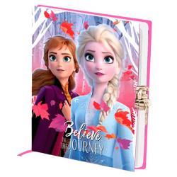 Diario llave Frozen 2 Disney - Imagen 1