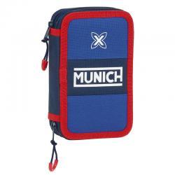 Plumier Munich Retro doble 28pcs - Imagen 1