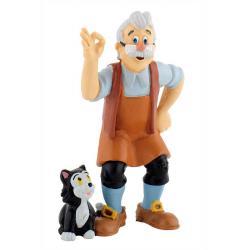 Figura Gepetto Pinocho Disney - Imagen 1
