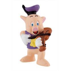 Figura Cerdito violin Los 3 cerditos Disney - Imagen 1