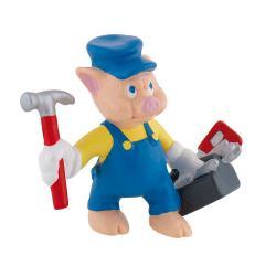 Figura Cerdito herramientas Los 3 cerditos Disney - Imagen 1