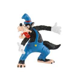 Figura Lobo feroz Los 3 cerditos Disney - Imagen 1