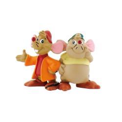 Figura Gus y Jaq Cenicienta Disney - Imagen 1