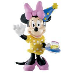 Figura Minnie cumpleaños Disney - Imagen 1